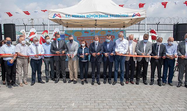 Mersinden güneş enerjisi ile kurutma tesisi açıldı