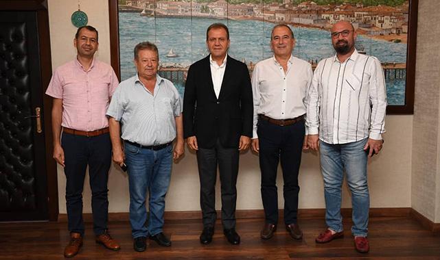 CHP'den Başkan Seçer'e ziyaret