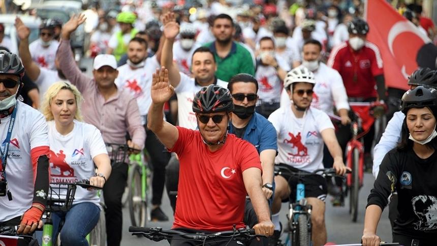 Büyükşehir'den 19 Mayıs'a yakışır kutlama