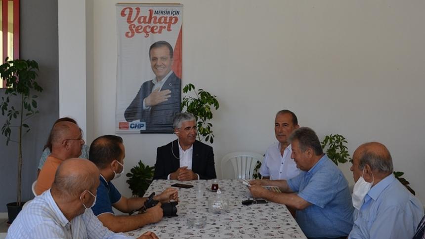 Gündeş'den CHP'ye ziyaret