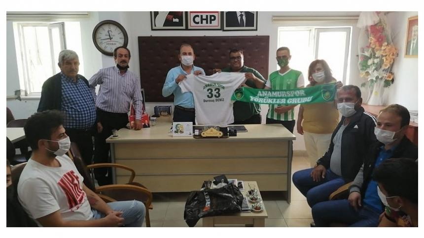 Yörükler Grubu'ndan CHP'ye Ziyaret