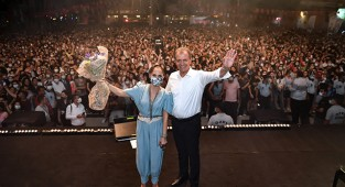 Mersin Büyükşehir'in Zafer Konserleri 3 gün 3 gece sürdü